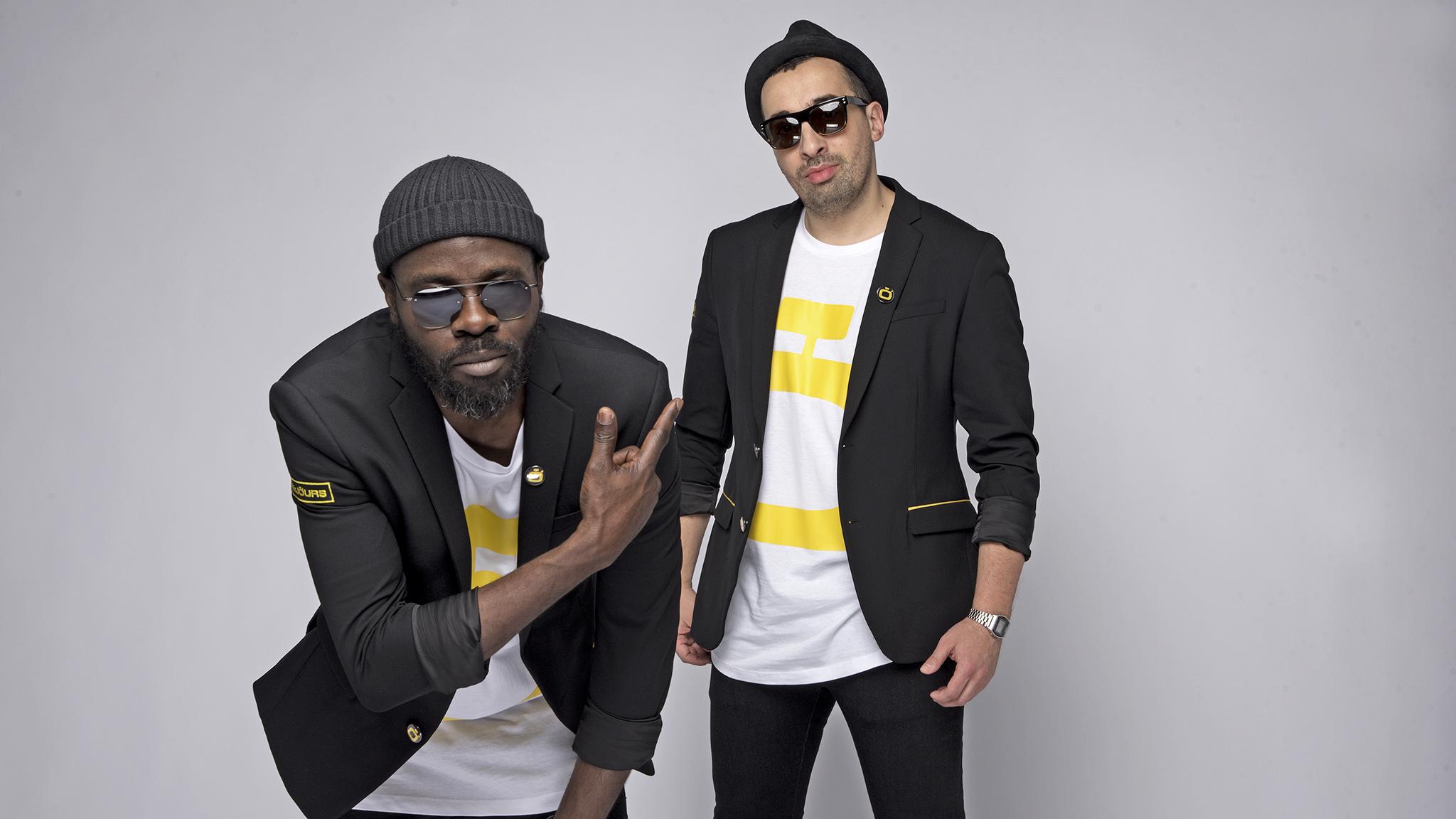 Féfé & Leeroy, un duo au soleil du rap